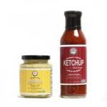 Gourmet Ketchup & Mustard